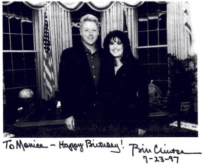 monica lewinsky and bill clinton. Bill Clinton and Monica
